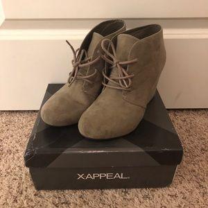 X-Appeal Wedge Booties